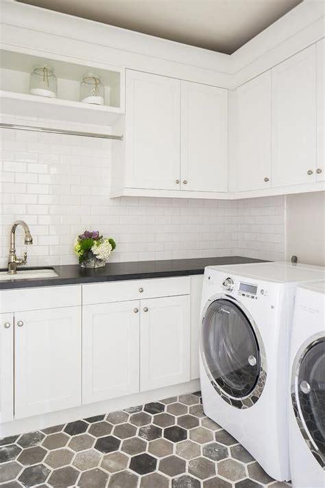 Grey Tile Laundry Room Gray Laundry