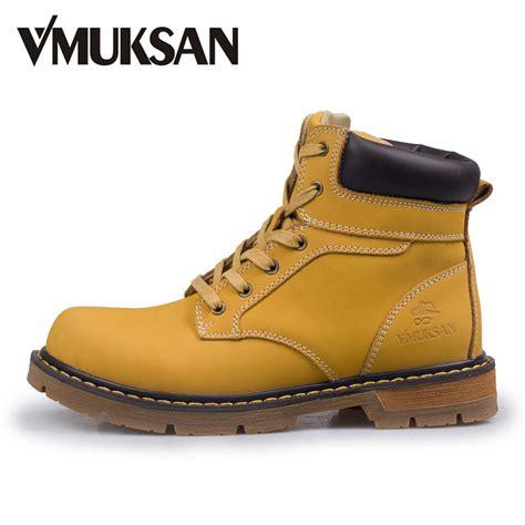 aliexpress buy vmuksan boots 42 45 new 2017