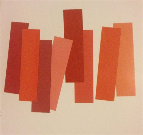 Red Color Combinations interaction of color by josef albers elizabeth a hunt
