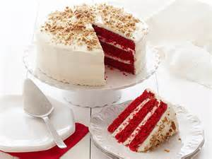 image gallery red cake