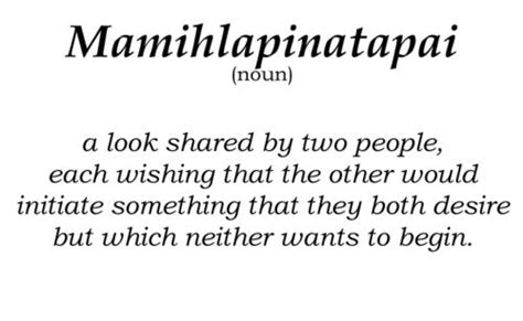 fascinating meaning the daily word of the day mamihlapinatapai