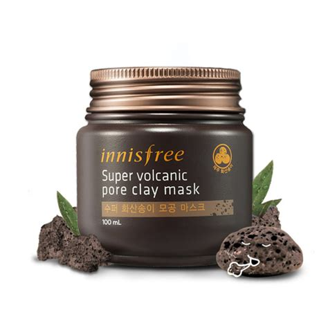 Harga The Shop Volcanic Clay innisfree volcanic pore clay mask 100ml strong