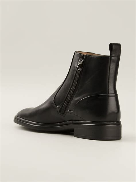 bally boots bally ankle boots in black for lyst