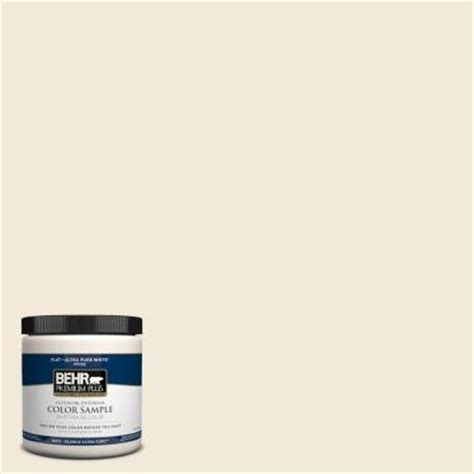 behr premium plus 8 oz 740c 1 seaside sand interior exterior paint sle 740c 1pp the home