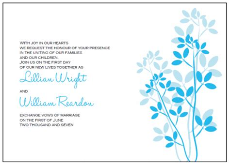 Printable Wedding Invitations Templates Free Email Wedding Invitation Templates