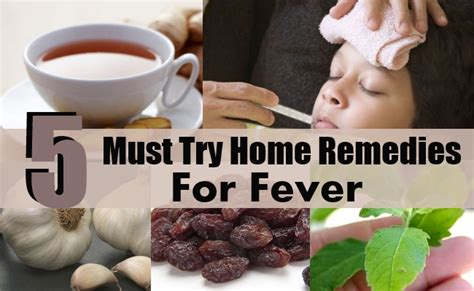 5 must try home remedies for fever diy health remedy