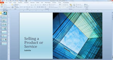 Free Business Sales Template For Powerpoint Presentations Powerpoint Sales Presentation Template