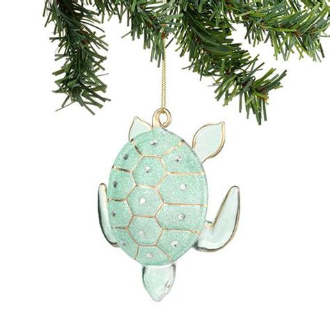 christmas glass turtle ornament christmas pinterest