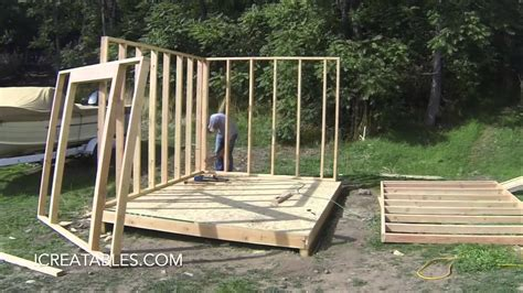 how to build a shed from scratch shed