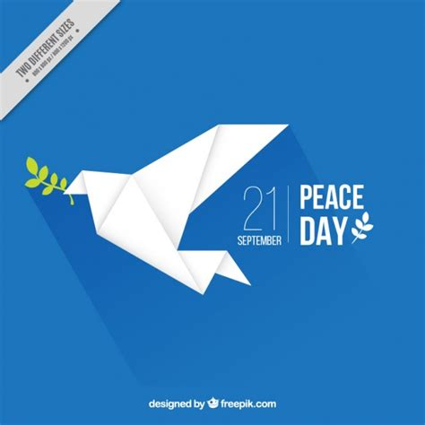 Origami Peace Dove - peace vectors photos and psd files free