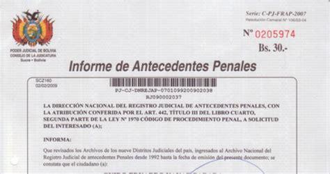 papeles para la carta de antecedentes no penales 2016 prohibir a patrones exigir carta de antecedentes penales a