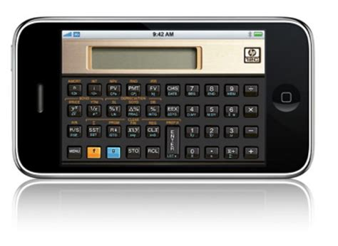 Hp Iphone C hp releases iphone versions of classic calculators macworld