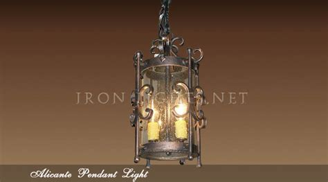 Wrought Iron Kitchen Lighting Wrought Iron Pendant Lights Alicante Kitchen Pendant Light Fixtures