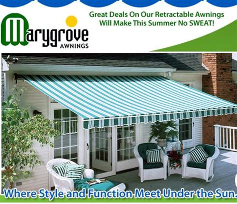 marygrove awning marygrove awnings announces a new retractable awning