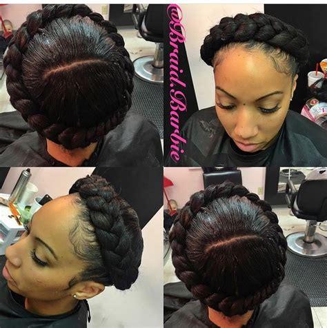 2015 knotless goddess braids halo braid braids pinterest