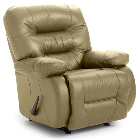 Sears Leather Recliners by Best Home Furnishings Maddox Genuine Leather Rocker Recliner