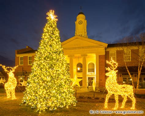 xmas tree lighting orange ct lights at west hartford 2017