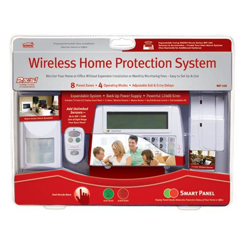 wireless home alarm system best diy home security system