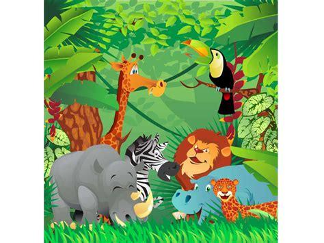 imagenes animales jungla coj 237 n infantil animales jungla oedim decor