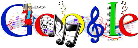 themes for google music google doodle logo bipedias s blog