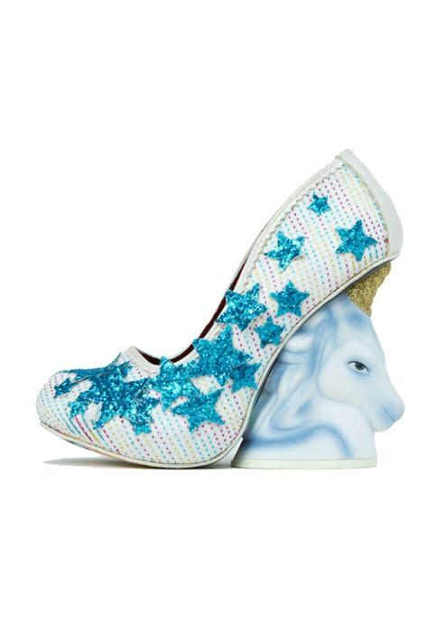 unicorn high heels irregular choice unicorn heels from portland by frock
