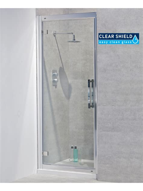 760mm Shower Door Avante 8mm 760 Hinged Shower Door