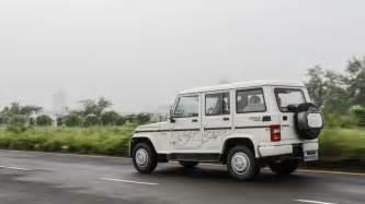 bolero new car mahindra bolero expert review bolero road test 206728