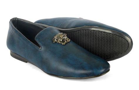 versace mens sneakers versace buckle design blue color mens shoes frj offers