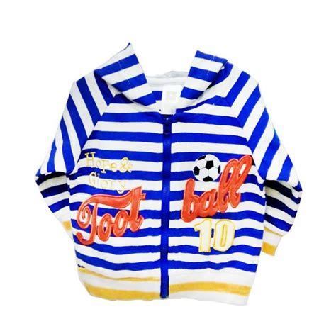 Jaket Bayi Jaket Bayi Import Baju Bayi jual import kid salur football jaket bayi laki laki blue harga kualitas terjamin