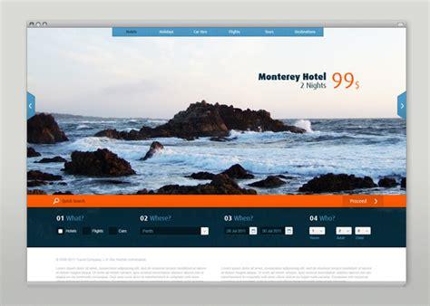 design inspiration travel websites creative ui design exles for great ux