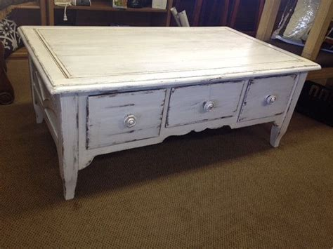 white distressed wood coffee table solid wood coffee table distressed upcycled white