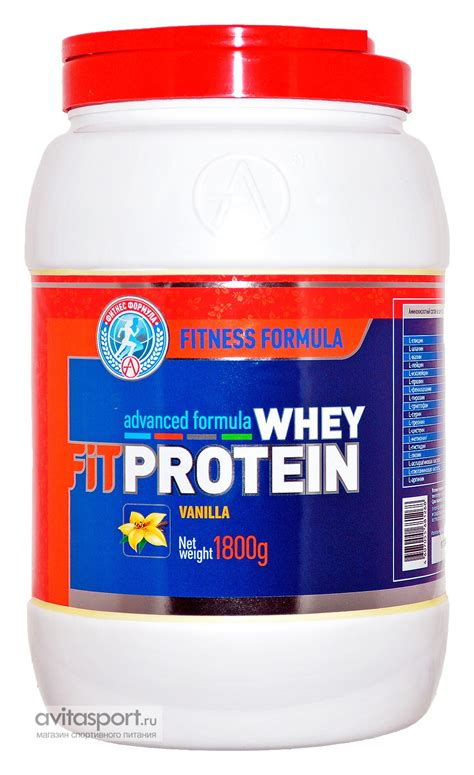 Fitnes Whey Protein Fit Whey Protein