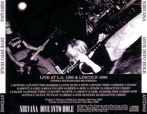 Nirvana 1cd 1989 nirvana dive into 1cd giginjapan