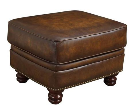 Ottoman Collection Montbrook Collection Ottoman 503984 Leather Ottomans Furniture Factory Outlet