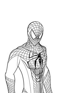 spider man coloring pages coloringsuite