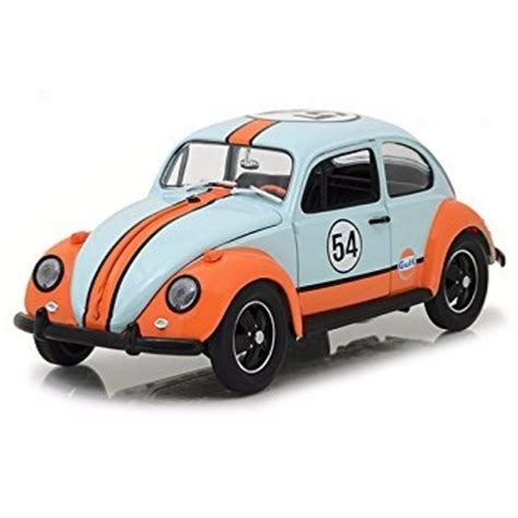 Greenlight Friday The 13th Vw Classic Bettle volkswagen beetle 54 gulf racer blue 1 18 12994 greenlight 8944601726988 ebay
