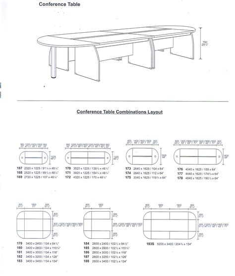 Standard Conference Table Dimensions Conference Table Size Conference Table Size And Seating Capacity 42 Conference Table Size