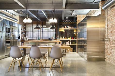 cuisine commerciale loft 224 terrassa par egue y seta