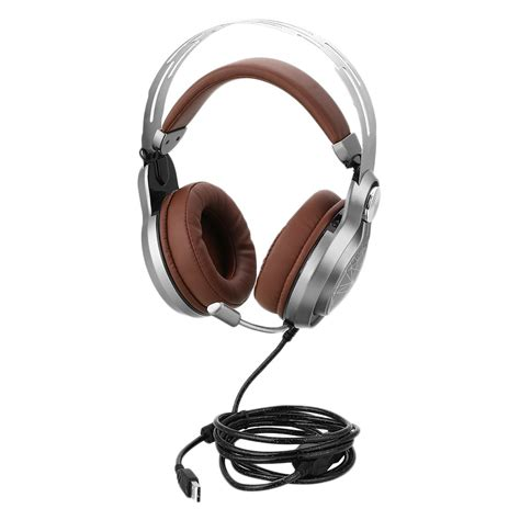 Headset Gaming Usb usb gaming headset headband bass led wired headphones with mic for pc ebay