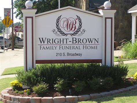 wright brown family funeral home coweta ok