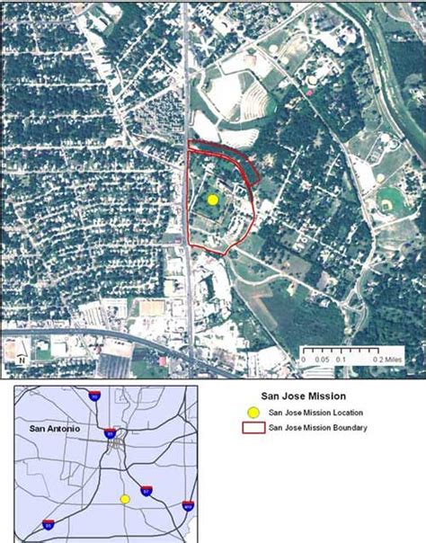 mission san jose location map tpwd january 23 2008 commission meeting agenda