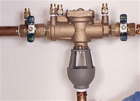 Bfp Plumbing by Facts About Backflow Preventers