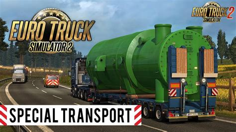 euro truck simulator 2 dlc free download full version special transport dlc promo trailer 187 download ets 2 mods