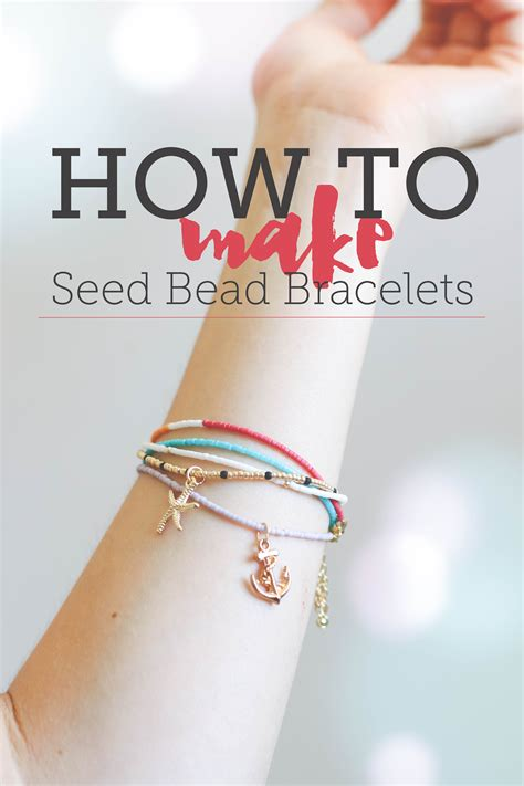 Handmade Bracelets Tutorial - how to make seed bead bracelets free tutorial on craftsy