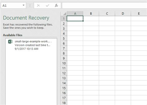 How To Recover Documents In Excel how to recover an unsaved excel file in excel 2016 for free