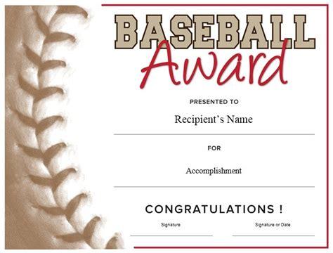 Free Baseball Award Certificate Template Word 13 free sle basketball certificate templates