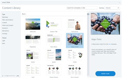 Articulate Storyline 360 Templates How To Use Content Library Templates In Storyline 360 E Learning Heroes