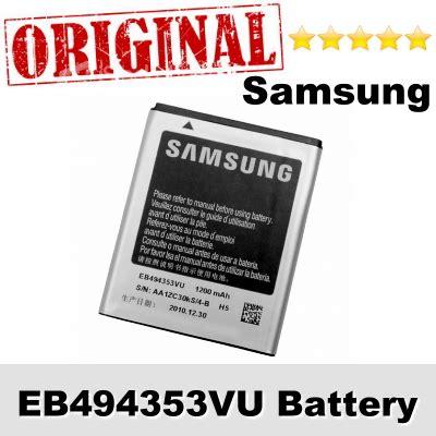 Samsung Battery Eb494353vu Original original samsung eb494353vu gt s5250 end 4 9 2018 9 30 pm