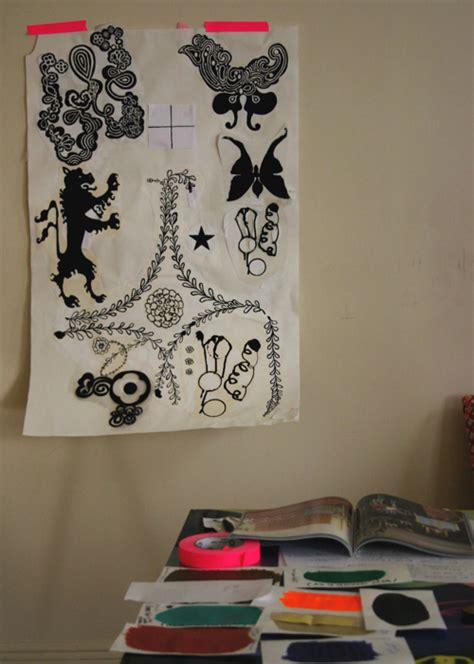 Cool Designer Nama Rococo by Nama Rococo Wallpaper Design Milk