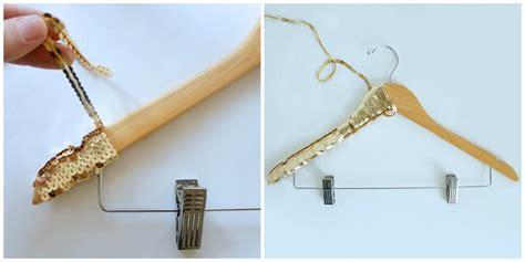 Diy Hanger - diy gold sequin hanger lulus fashion